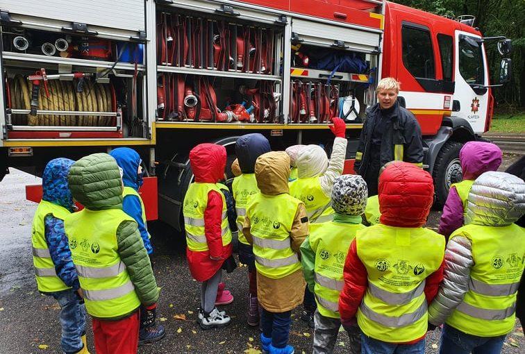 Ekskursija priešgaisrinėje gelbėjimo valdyboje
